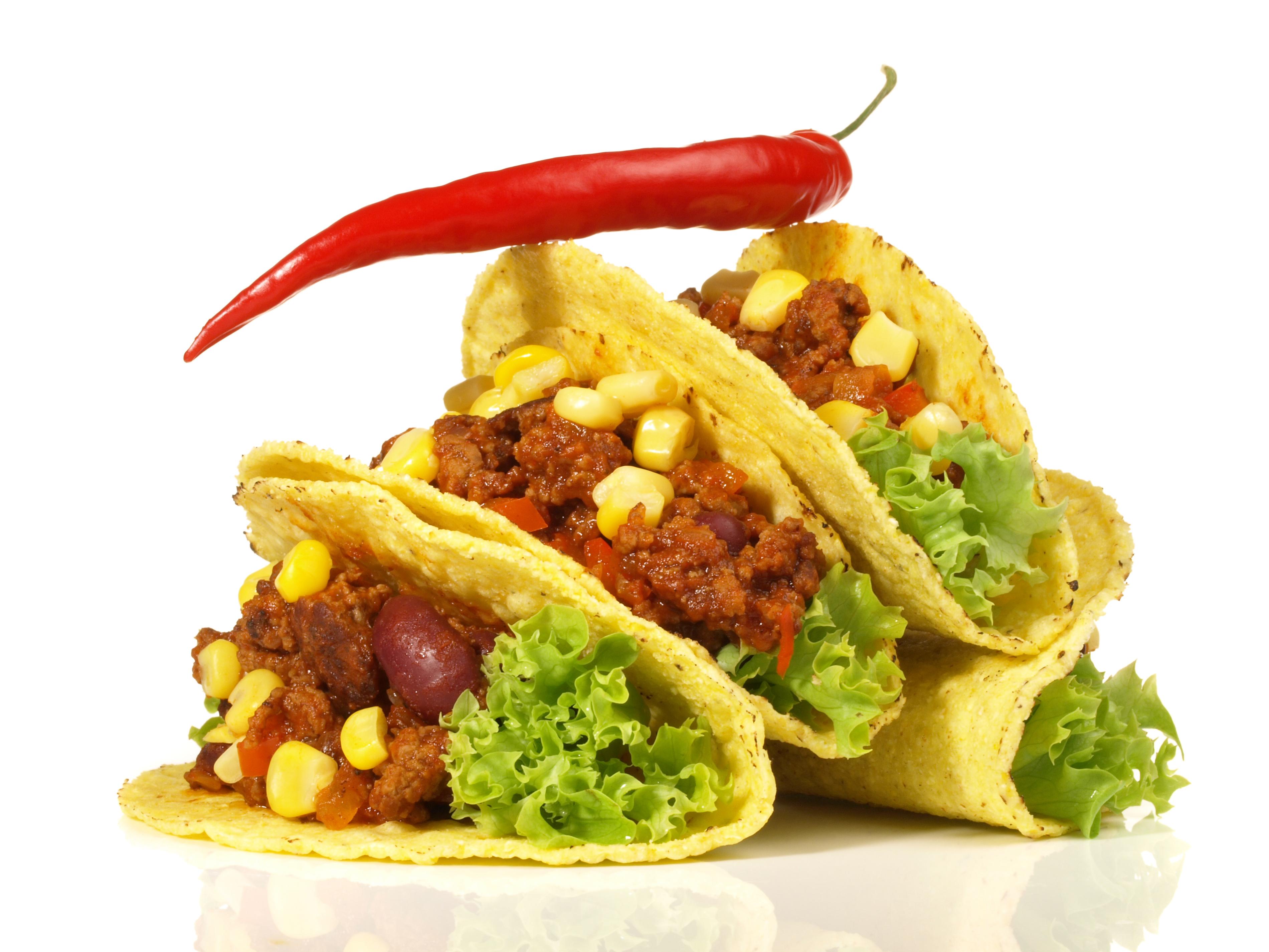 Taccos mit Chili con Carne